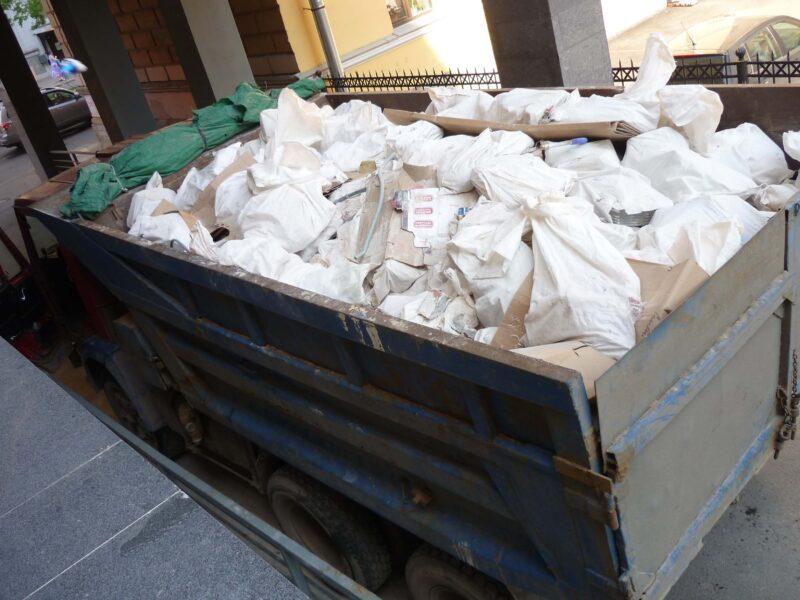 вывоз строительного мусора камаз днепр